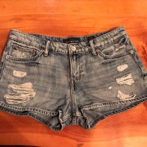 Lucky brand blue jean denim shorts